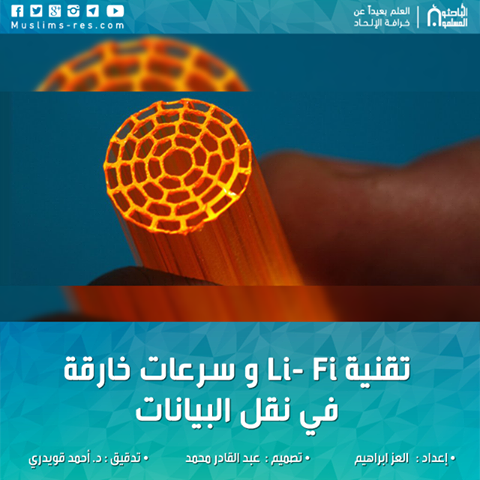 تقنية Li- Fi و سرعات خارقة في نقل البيانات