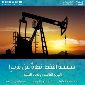 سلسلة النفط نظرةٌ عن قربٍ