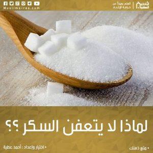 لماذا لا يتعفن السكر ؟