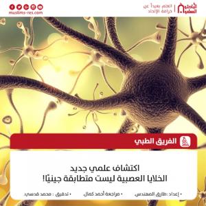 اكتشاف علمي جديد الخلايا العصبية ليست متطابقة جينيًا