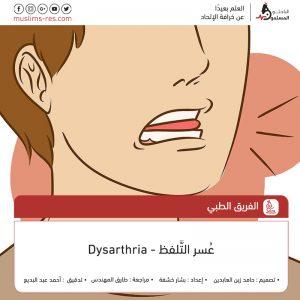 عسر التلفظ – Dysarthria